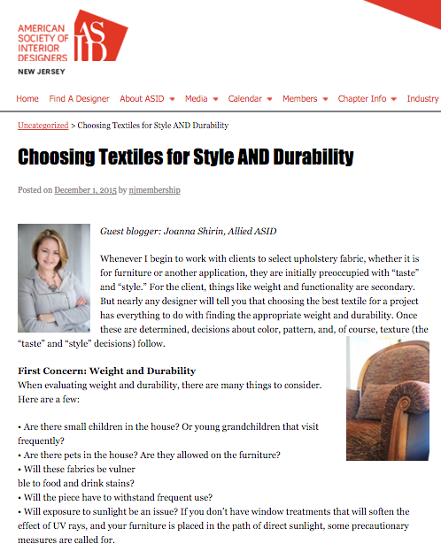 Head over to ASID New Jersey's design blog, where this article was first featured, to read in its entirety!