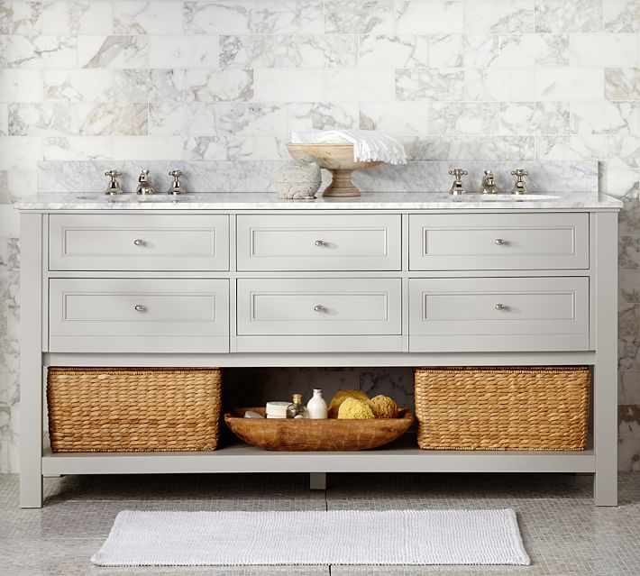 Beautiful Bathrooms Nyc: 10 Beautiful Bathroom Vanities To Update Your Spa-Like Space
