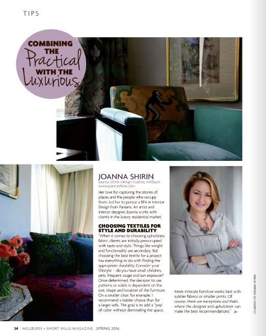 Exclusive Designer Feature Joanna Shirin